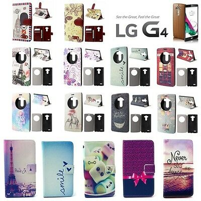 !! DESTOCKAGE !! Etui Coque Housse porte cartes View Window Cover Case LG G4