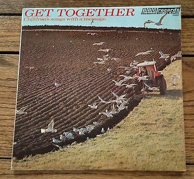 VINYL LP : GET TOGETHER - Children's Songs With A Message - BBC Records 1978