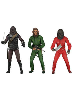 "Planet Of The Apes 2 (Classic Series 3 SDCC 2015) 7"" Figure Set"