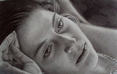 Pencil Art, Kate Winslet, Titanic, Realism Art, 16x20 inches, PRICE JUST DROPED