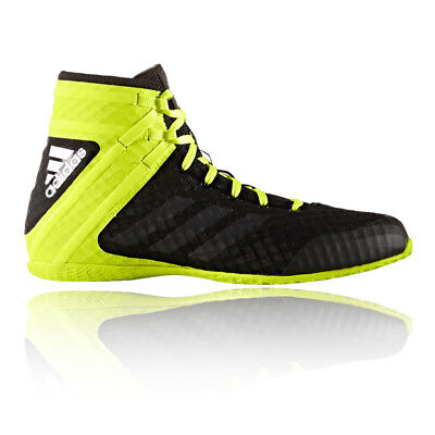 Adidas Speedex 16.1 Mens Black Yellow Boxing Shoes Training Sports Trainers