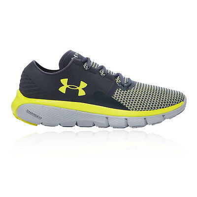 Under Armour Speedform Fortis 2 Mens Grey Cushioned Running Shoes Trainers