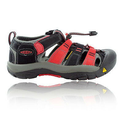 Keen Newport H2 Junior Black Red Summer Shoes Hiking Walking Sports Sandals
