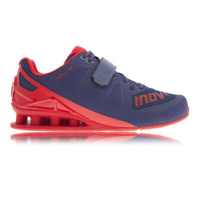 Inov8 Fast Lift 325 Mens Red Blue Weightlifting Sports Shoes Trainers Pumps