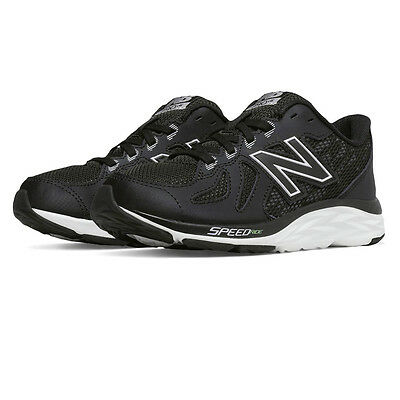 New Balance KJ790BKY Junior Black Cushioned Running Sports Shoes Trainers