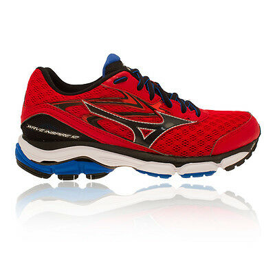 Mizuno Wave Inspire 12 Mens White Yellow Support Running Shoes Trainers