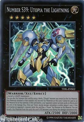 TDIL-ENSE2 Number S39: Utopia the Lightning Super Rare Limited Edition Mint YuGi