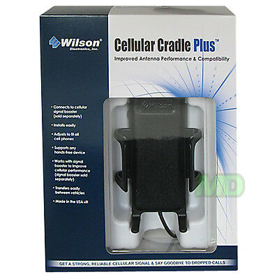 Wilson 301148-B Cell Phone Cradle Plus Antenna Kit FME-Female Connector (301146)