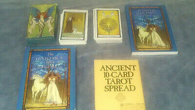 THE UNICORN TAROT_Deck/Book Set_SUZANNE STAR_78 cartas US GAMES 1996