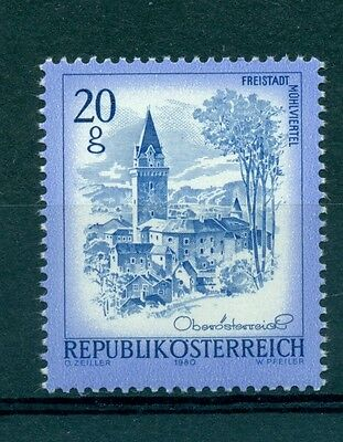 PAYSAGES - BEAUTIFUL AUSTRIA 1980 Common Stamps