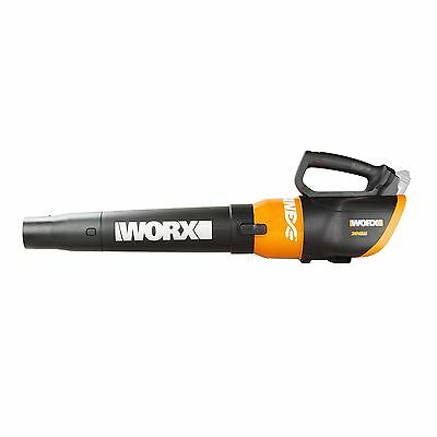 WORX WG546E.9 20V Cordless Lithium Air Turbine Blower BODY ONLY with Power Sh...