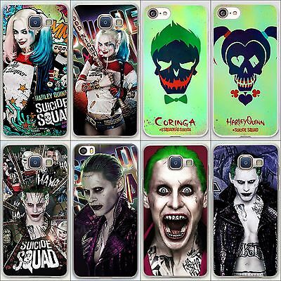 Harley Quinn Joker Jared Leto Margot Robbie Suicide Squad Case For iPhone 7 8 X
