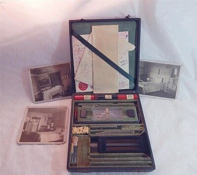 Antique Medical Set Hemactometer And Hemometer 1937