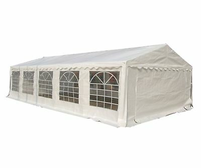 FoxHunter Waterproof PE Marquee 5m x 10m Heavy Duty Wedding Gazebo Garden Tent