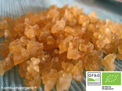 50g of Outstanding Quality Organic Live Water Kefir Grains by Kombuchaorganic®