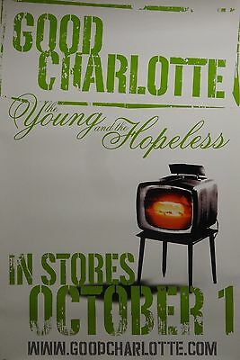 Good Charlotte 24x36 Young And The Hopeless Promo Music Poster