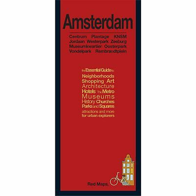 Red Maps Amsterdam CURRENT EDITION - City Travel Guide