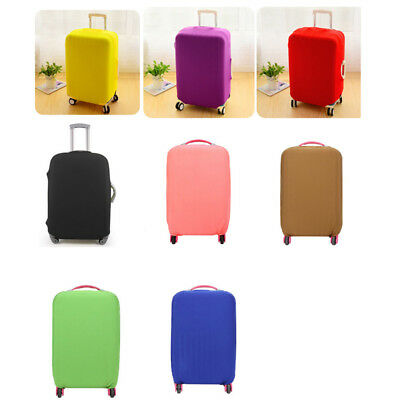 """20"""" 24"""" 28"""" Elastic Polyester Luggage Dust Cover Dustproof Protective Bag"""