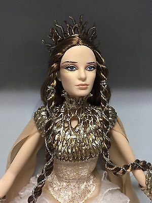 Barbie 2014 Lady of the White Woods Barbie Doll Gold Label Edition