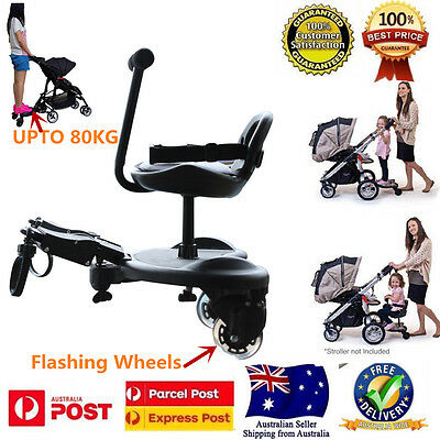 Tensbaby Sit Ride On Tandem Seat Board Attachment for Pram/Stroller for Toddler