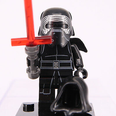kylo Ren Star Wars Mini Figure Custom Lego The Force Awakens Minifigures
