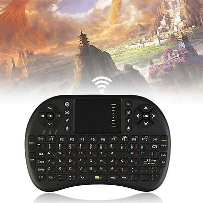 Multi-media 2.4GHz Mini Wireless Russian Keyboard Mouse Touch Pad Presenter BY