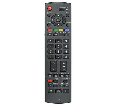 Remote Control For Panasonic Viera Tv Lcd Plasma Eur7651110A - Replacement