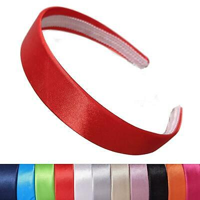 2cm satin hair bands