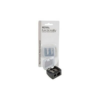 Royal Functionality Duo Cosmetic Pencil Sharpener CARDED - Model: GMAN021