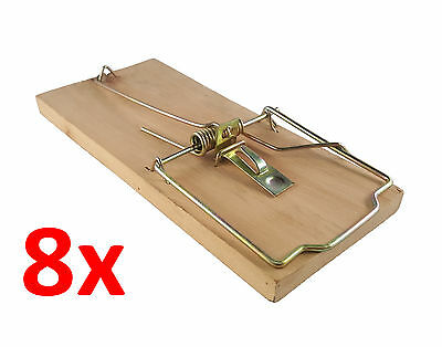 8x extra large heavy duty quality rat trap reusable catching mouse rodent pest