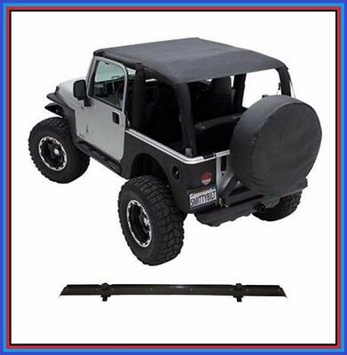 Smittybilt Extended Top w/ Windshield Channel for 97-06 Jeep TJ Wrangler