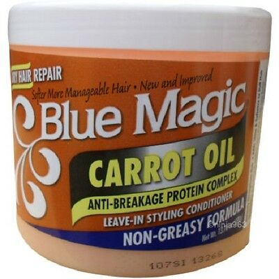Blue Magic Carrot Oil Leave In Styling Conditioner 390g