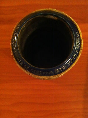 "Antique Edison ""Blue Amberol"" Cylinder: There's lots of stations... Jones & Murr"