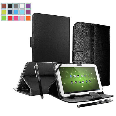 "Smart Universal Leather Stand Case For 9.7"" - 10.1"" Inch Android Tablet PC"