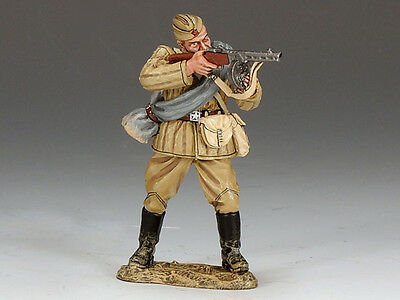 King and (&) Country RA021 - Red Army Soldier Standing Firing