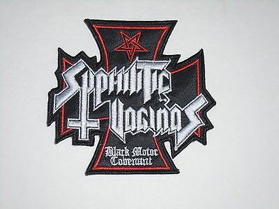 Syphilitic Vaginas Embroidered Patch