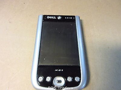 "DELL AXIM X51 JC338 HC03UL Handheld PDA Windows Mobile 5.0 - 3.7"" color TFT"