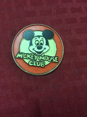 Vintage Mickey Mouse Club Member Official Mouseketeer Badge Pin Button-NEW