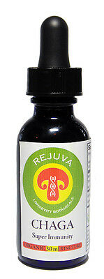 SUPER CHAGA TINCTURE ORGANIC Premium Highest Potency Duel Extracted 180 Days