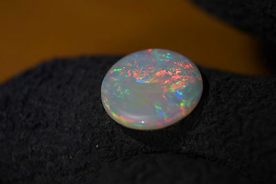 AMAZING LARGE ROUND GEMSTONE Australian Cooberpedy Solid Natural Opal 1.5 Cts
