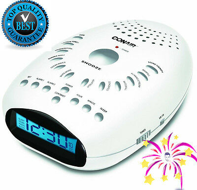Sleep Sound Therapy Machine Timer Night Sleeping White Noise Soothing Aid NEW