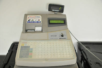 Sharp ER-A420 Flat Keyboard Cash Register with 100 individual PLU's.