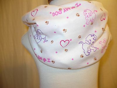 Baby TODDLER SCARVES Infinity Girl Scarf Handmade Hearts Goodtreasures123
