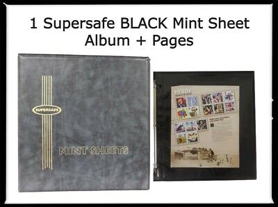 Stamps Mint Sheet File Strong Album Binder Supersafe Delux M1A Best Holiday Gift