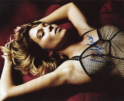 AUTOGRAPHE SUR PHOTO SEXY 20 x 25 de Léa SEYDOUX (signed in person)