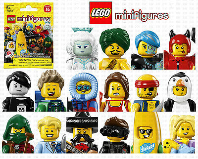 "LEGO MINIFIGURES 71013 SERIES 16 ""Your Choice"" ~FACTORY SEALED"