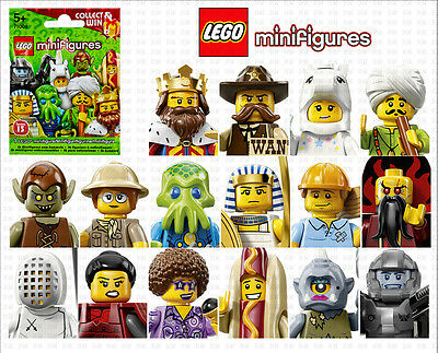 "LEGO 71008 COLLECTIBLE MINIFIGURES SERIES 13  ""Your Choice"" ~FACTORY SEALED"