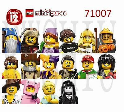 "LEGO 71007 COLLECTIBLE MINIFIGURES SERIES 12 ""Your Choice"" ~FACTORY SEALED"