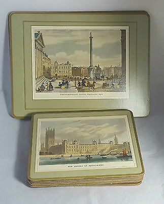 Beautiful Set of 8 Old London Themed Placemats by Pimpernel