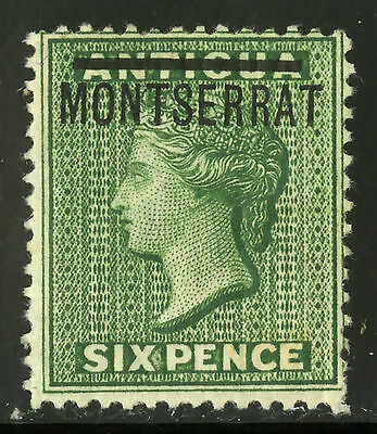 Montserrat   1876   Scott #  2   Mint Lightly Hinged